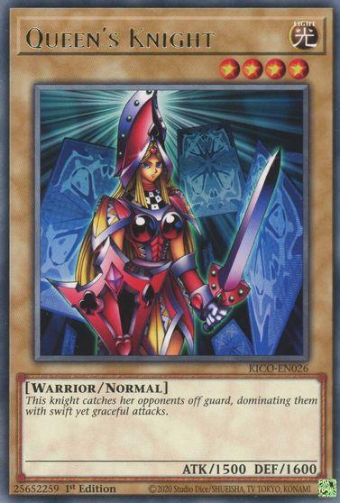 Queens Knight - KICO-EN026 - Rare - 1st Edition