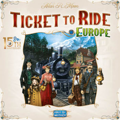 Ticket To Ride: Europe: 15th Anniversary