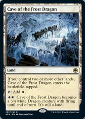 Cave of the Frost Dragon - Foil