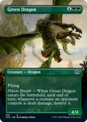 Green Dragon - Borderless