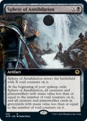 Sphere of Annihilation - Foil - Extended Art
