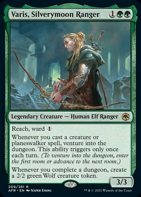 Varis, Silverymoon Ranger