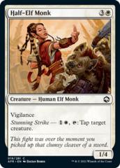 Half-Elf Monk - Foil