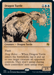 Dragon Turtle - Foil - Showcase