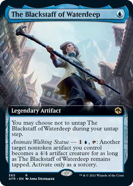 The Blackstaff of Waterdeep - Foil - Extended Art