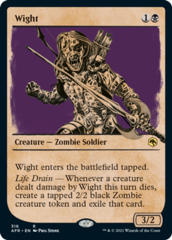 Wight - Foil - Showcase