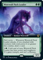Werewolf Pack Leader - Foil - Extended Art