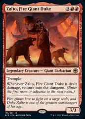 Zalto, Fire Giant Duke - Foil