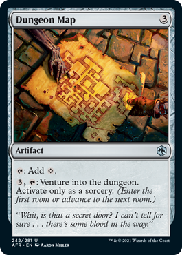 Dungeon Map - Foil