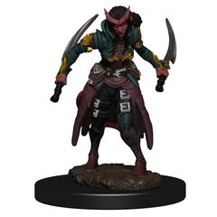 D&D Premium Painted Figure: W6 Tiefling Rogue Female