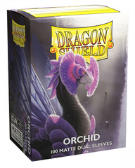 Dragon Shield Dual Matte Sleeves: Orchid