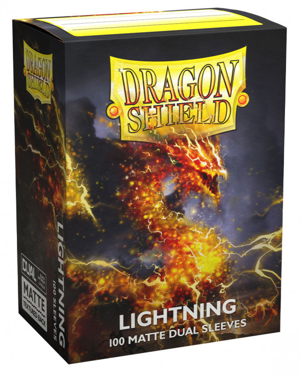Dragon Shield Dual Matte Sleeves: Lightning