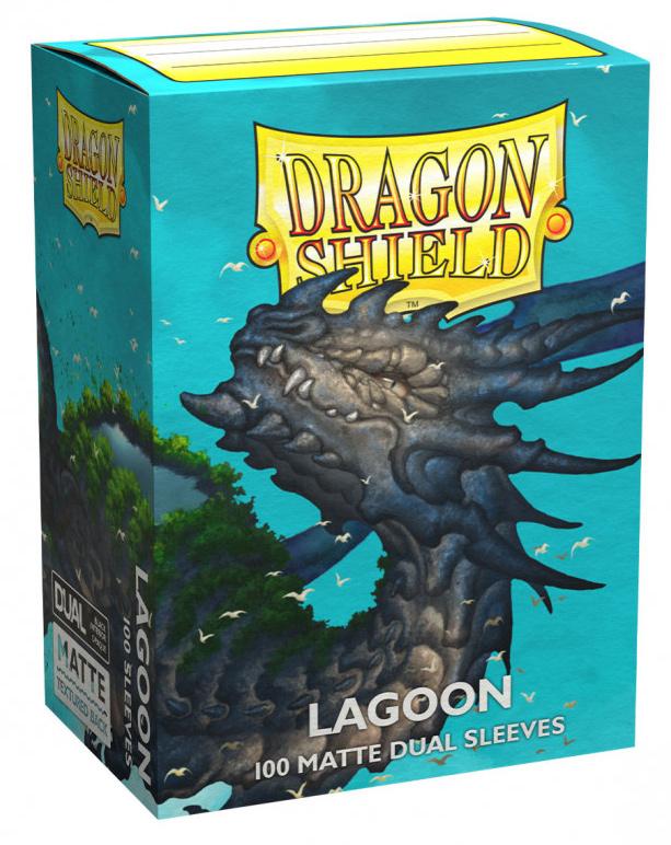 Dragon Shield Dual Matte Sleeves: Lagoon