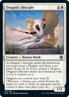 Dragons Disciple - Foil