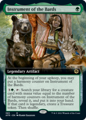 Instrument of the Bards - Foil - Extended Art