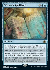 Wizard's Spellbook - Foil
