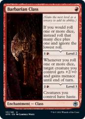 Barbarian Class - Foil