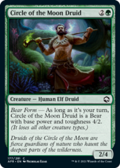 Circle of the Moon Druid - Foil