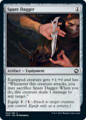 Spare Dagger - Foil