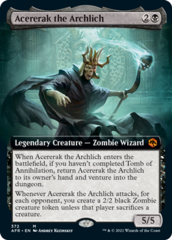 Acererak the Archlich - Extended Art
