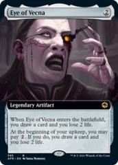 Eye of Vecna - Foil - Extended Art