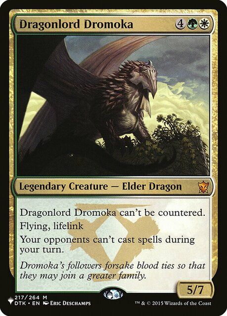 Dragonlord Dromoka - The List