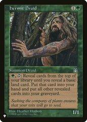 Hermit Druid - The List