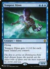 Tempest Djinn - The List