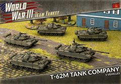 TSBX19: T-62 Tank Company (x5 Plastic)