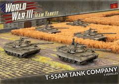 TSBX22: T-55AM Tank Company (x5 Plastic)