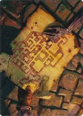 Dungeon Map Art Card