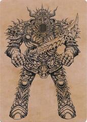Iron Golem (Showcase) Art Card