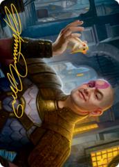 Minsc, Beloved Ranger Art Card -  Gold-Stamped Signature