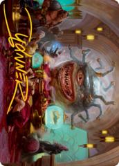 Xanathar, Guild Kingpin Art Card -  Gold-Stamped Signature