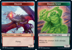 Dragon Token // Dragon Spirit Token