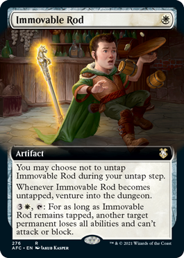 Immovable Rod - Extended Art