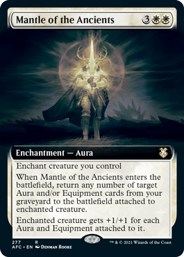 Mantle of the Ancients - Extended Art