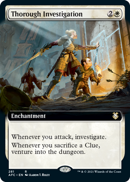Thorough Investigation - Extended Art