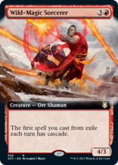 Wild-Magic Sorcerer -  Extended Art