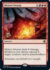 Meteor Swarm - Foil - Prerelease Promo