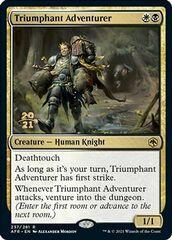 Triumphant Adventurer - Foil - Prerelease Promo
