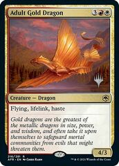 Adult Gold Dragon - Promo Pack