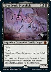Ebondeath, Dracolich - Foil - Promo Pack