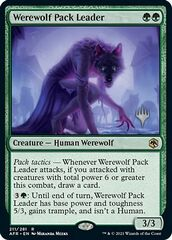 Werewolf Pack Leader - Promo Pack