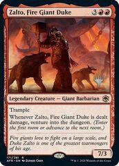 Zalto, Fire Giant Duke - Promo Pack