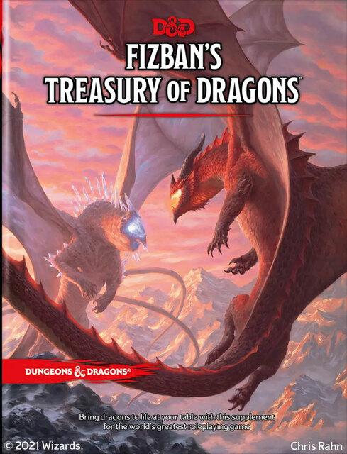 D&D: Fizban's Treasury of Dragons