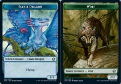 Faerie Dragon Token // Wolf Token - Foil