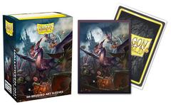 Dragon Shield: Halloween Dragon 2021 Matte Art Sleeves (100 ct.)