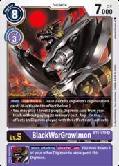 BlackWarGrowlmon - BT5-079 - R