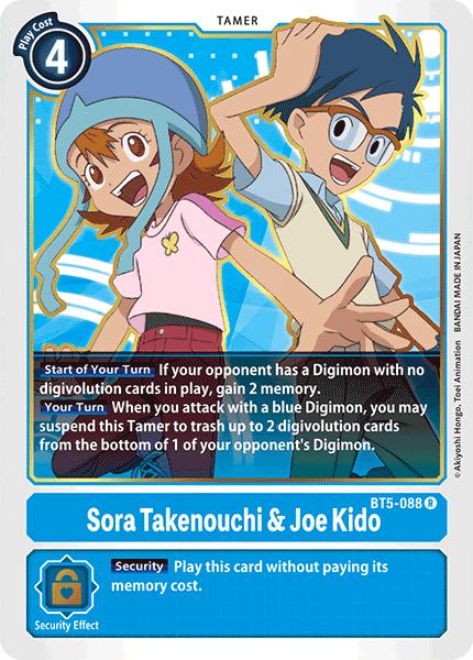 Sora Takenouchi & Joe Kido - BT5-088 - R